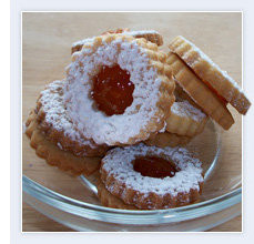 Apricot Linzer Shookies